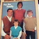 Shaker Stitch Vests for the Family - Knit