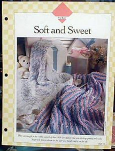 Soft and Sweet - Crochet Afghans by Vanna White
