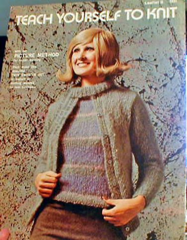 Teach Yourself to Knit Using Picture Method