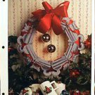 Cats-in-a-Circle Wreath - Plastic Canvas Pattern