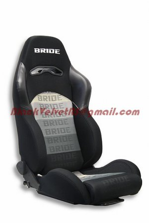 Bride Digo Racing Single Seat-Free Sliders Attached