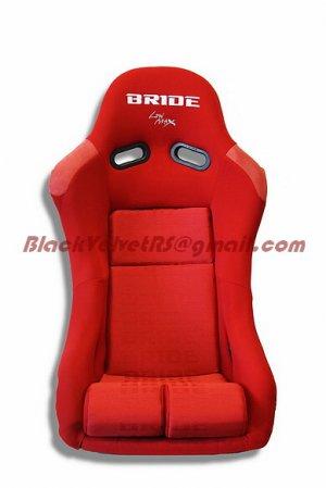 Bride Vios Red Gradation BLACK FRP PAIR