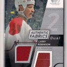 2008-09 SP Game Used Larry Robinson Authentic Fabrics