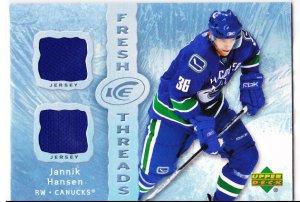 2007-08 Ice Fresh Threads Jannik Hansen