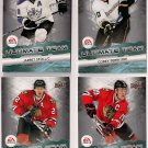 2011-12 Upper Deck Ultimate Team LOT OF 4 CARDS