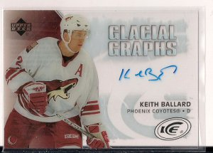 2005-06 Ice Glacial Graphs Keith Ballard
