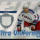 2007-08 Fleer Ultra Uniformity Jarkko Immonen