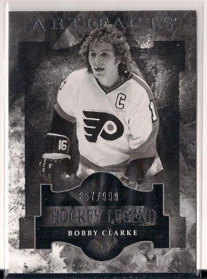 2011-12 Artifacts Legend Bobby Clarke /999