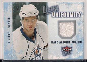 2008-09 Fleer Ultra Uniformity Marc-Antoine Pouliot