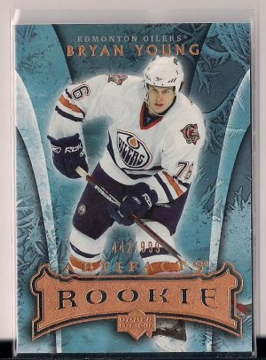 2007-08 Artifacts Rookie Bryan Young /999