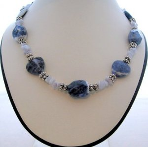 Sodalite and Blue Lace Agate