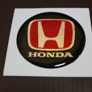 HONDA RESIN WHEEL CENTER CAP BADGE EMBLEM LOGO 50 MM. x 4 pcs