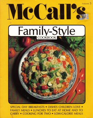 """""""McCall's Family-Style Coobook"""""""