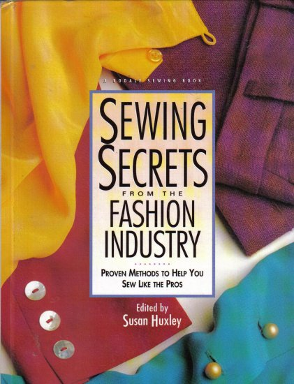 """Sewing Secrets from the Fashion Industry"""