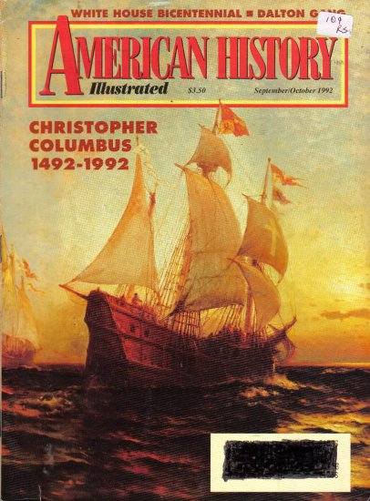 """American History Illustrated"" September/October  1992"