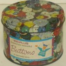 Small Round Buttons Tin