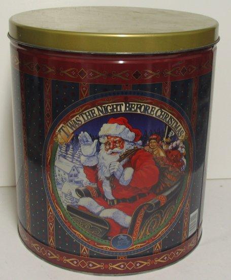 Santa's Large Christmas Tin