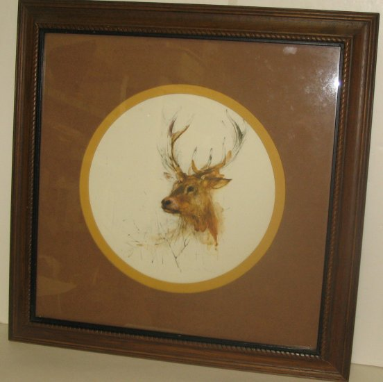 """Whitetail"" Painting"
