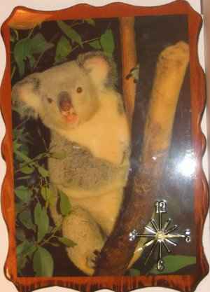 """Koala Bear"" Picture Clock"