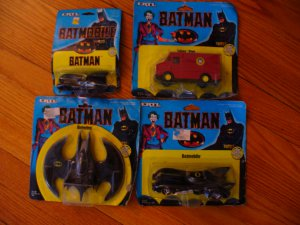 Batman Movie (first one with Nicholson as Joker) metal vehicles