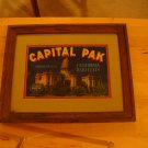 BARN FIND! Antique Framed California Produce Crate labels
