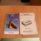 Commodore users manual and commodore daisy wheel printer manual