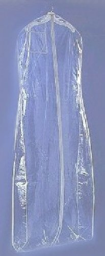 Clear Vinyl Bridal Garment Bag For Wedding Dress Gown Bagv72cr