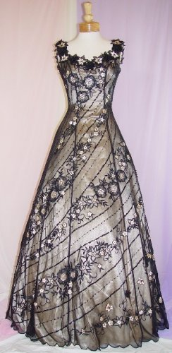 NEW BEADED INFORMAL EVENING DRESS GOWN PROM SIZE 8