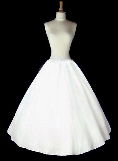 line bridal gown wedding dress crinoline petticoat slip skirt cp101