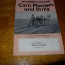 McCORMICK-DEERING CORN PLANTER, TRACTOR BROCHURE-1920&#39;s