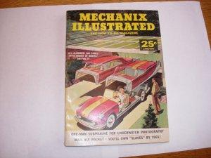 MECHANIX ILLUSTRATED MAGAZINE JAN 1957