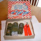 VINTAGE MILITARY MOTOR POOL SET BY IRWIN-BATTERY OPERATED
