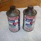 Vintage Traveller Gas-line Antifreeze  Cans