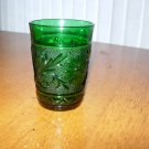 Anchor Hocking Forest Green Sandwich 5oz Juice Tumbler