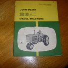 John Deere 3010 Row-Crop and Standard Diesel Tractor Operators Manual