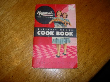 Vintage Monarch Electric Range Cookbook
