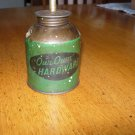 Vintage Our Own Hardware Oil Squirt Can