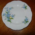 Vintage Royal Albert Forget Me Not Desert Plate
