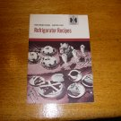 1950 IH International Harvester Refrigerator Recipe Book