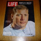 Mickey Mantle Life Magazine July 30, 1965 titled Mickey's Misery
