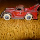 1930's CAST IRON TOY TOW TRUCK STAMPED A. CO.