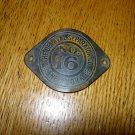 Vintage De Laval No 16 Cream Separator Emblem