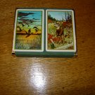 Vintage Duratone Playing Cards -Deer and Ducks with Original Case SEALED