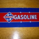 Skelly Gas Pump Insert Glass Sign