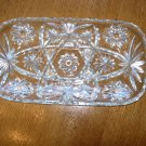 Early American Prescut Scalloped Edge Rectangular Hostess Tray