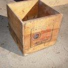 Vintage Standard Oil Co Polarine Pressure Gun Grease Wood Box