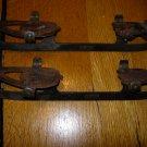 Vintage Winchester Carbon Steel Clamp On Skate Blades