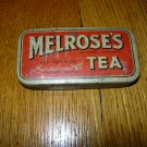 Antique Melrose's Tea Tin--- Small 3/4 oz Container