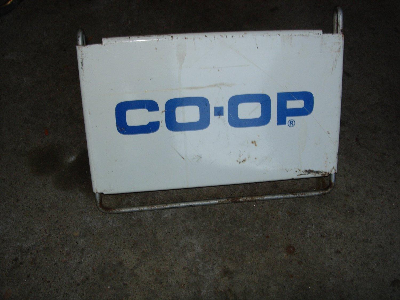 Vintage CO-OP Tire/ Sidewalk Sign