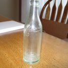 Vintage Clear Embossed Hauenstein Beer Bottle, New Ulm, MN 7 oz size